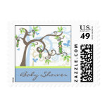 fatfatin Magic Trees Boy Baby Shower Stamps