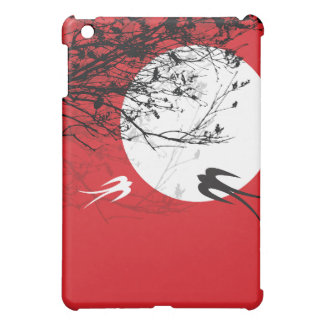 fatfatin Moonlight Swallows Red ®  Cover For The iPad Mini