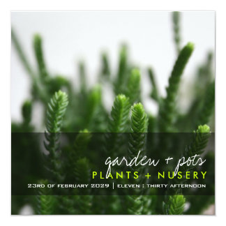 fatfatin Photography | Green Grass Invitation
