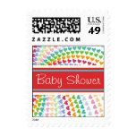 fatfatin Rainbow Heart Sprinkles Baby Stamps