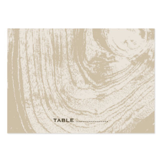 fatfatin Rustic Wood Autumn Fall Place Card Large Business Cards (Pack Of 100)