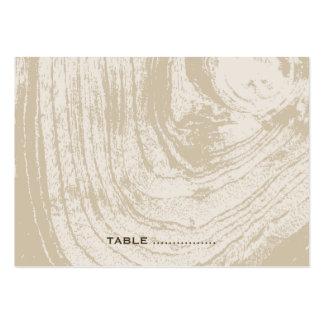 fatfatin Rustic Wood Autumn Fall Place Card Business Card Template