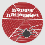 fatfatin Spider And Web Halloween Stickers
