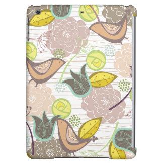 fatfatin Sweet Birds Floral Garden ® Cas iPad Air Covers