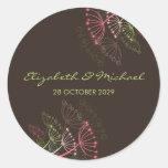 fatfatin Sweet Dandelions Wedding Favor Stickers