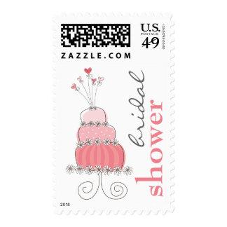 fatfatin Sweet Wedding Cake Bridal Shower Stamps Stamps
