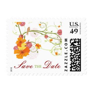fatfatin Yellow Hibiscus Swirls Swallows Save The  Stamp