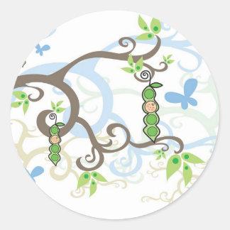 fatfation Magic Trees Baby Boy Sticker