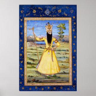Fath Ali Fatali Shah Qajar King Poster