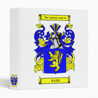 Fath Coat of arms Binder