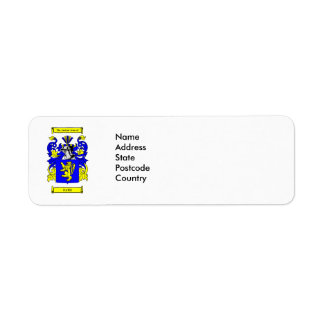 Fath Coat of arms Label