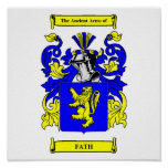 Fath Coat of arms Poster