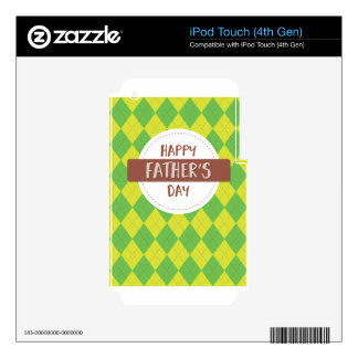 Father #9 decal for iPod touch 4G