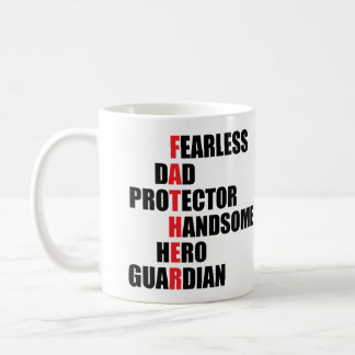 Father Acrostic Coffee Mug