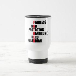 Father Acrostic Travel Mug