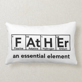 Father an essential element pillow Father s Day