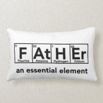 Father an essential element pillow Father's Day