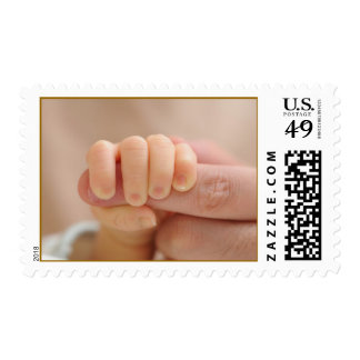 Father and baby postage