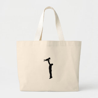 FATHER AND CHILD CANVAS BAGS