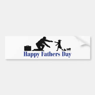 Father and Daughter Bumper Sticker