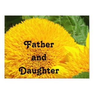 Father Daughter Invitations Announcements Zazzle