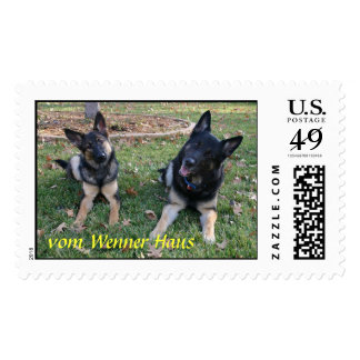 Father and Daughter Postage