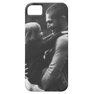 Father And His Sweet Daughter iPhone SE/5/5s Case