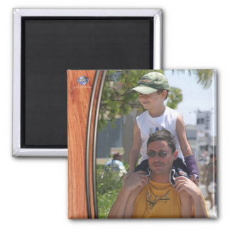 FATHER AND SON 2 INCH SQUARE MAGNET