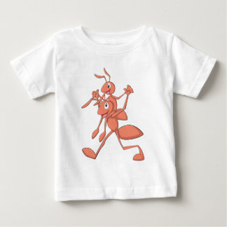 Father and Son Ant Baby T-Shirt