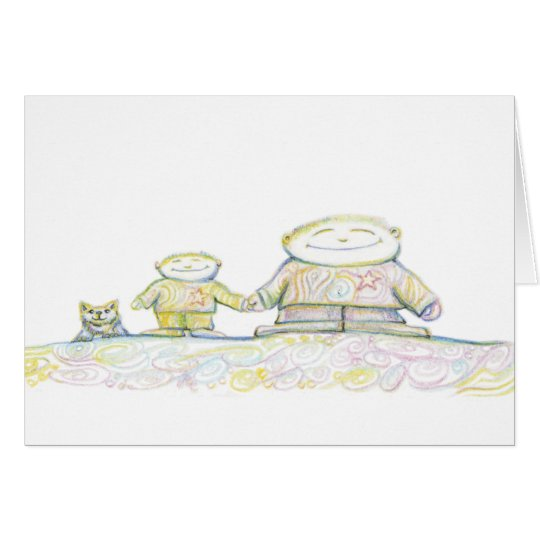 Father and Son Card
