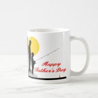 Father and Son Classic White Coffee Mug