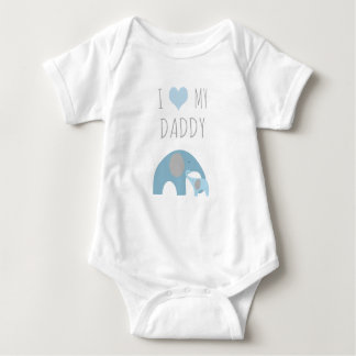 Father and son elephants - I love my daddy Shirt