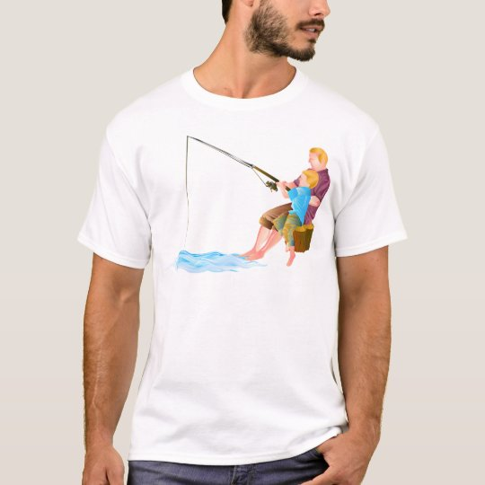 Father and son fishing T-Shirt