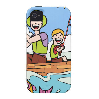 Father and Son Fishing Trip Case-Mate iPhone 4 Case