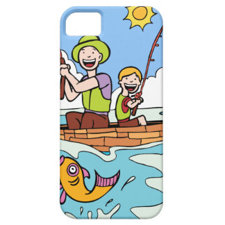 Father and Son Fishing Trip iPhone 5 Covers