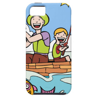 Father and Son Fishing Trip iPhone 5 Cover