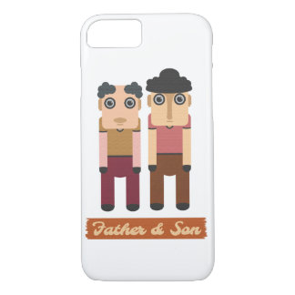 father and son iPhone 8/7 case
