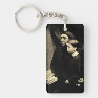 Father and Son Keychain