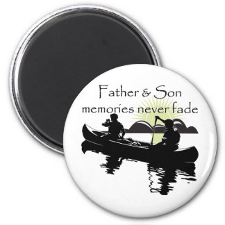Father and Son Magnet