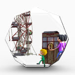 """Father and Son ready to ride a Ferris Wheel Award<br><div class=""""desc"""">A Cartoon Father and Son ready to ride a Ferris Wheel</div>"""