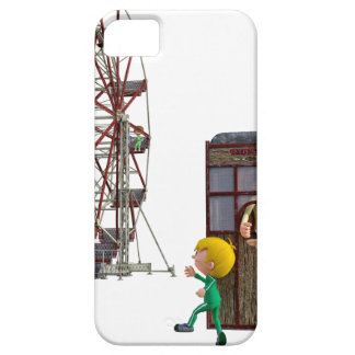 Father and Son ready to ride a Ferris Wheel iPhone SE/5/5s Case