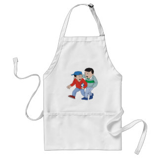 Father And Son Soccer Aprons