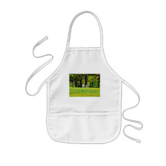 Father and Son Under the Trees Aprons