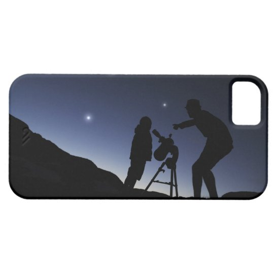 Father and Young Boy (6 years old) outside at iPhone SE/5/5s Case
