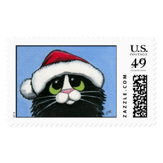 Father Catmas Postage