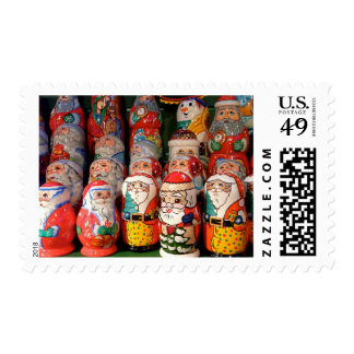Father Christmas and Snowmen Postage