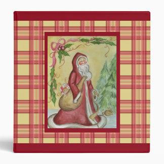 Father Christmas Binder