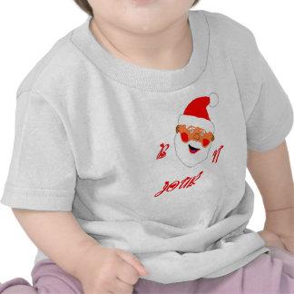 father-Christmas BONJOUR.jpg T-shirts