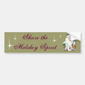 Father Christmas Bumper Sticker