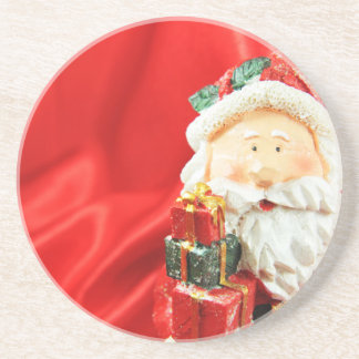 Father Christmas Drink Coasters